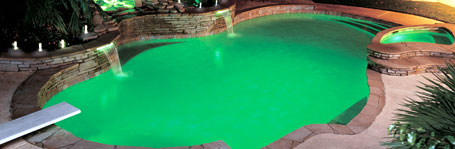 fiberstars_lighting_photo_green_pool