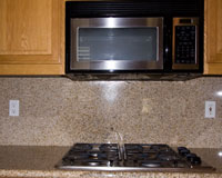 Microwave and Kitchen counter Outlets